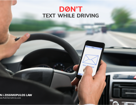 Dont text while driving glassman zissimopolous